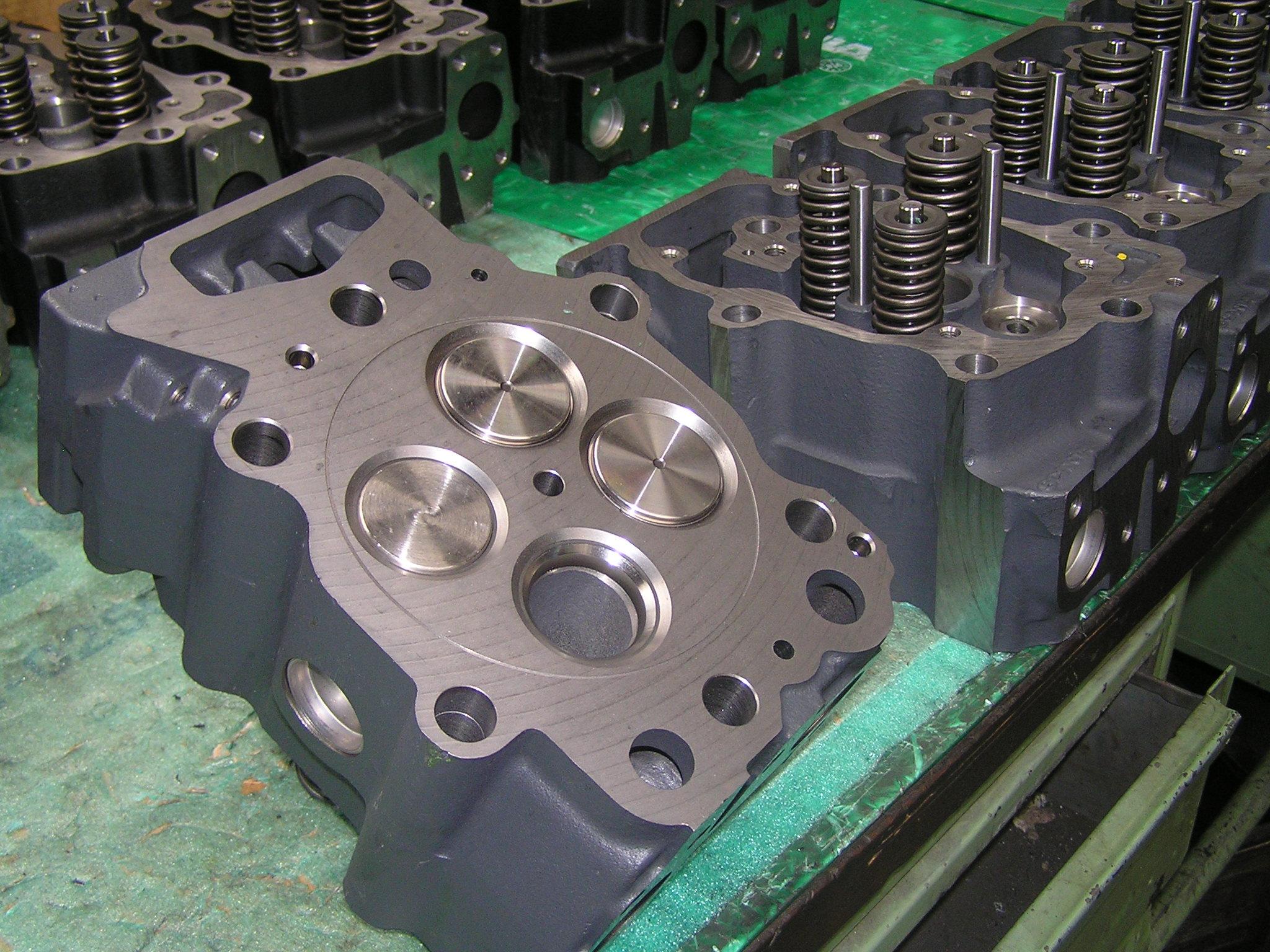 Renovace litinových hlav dieselových motorů