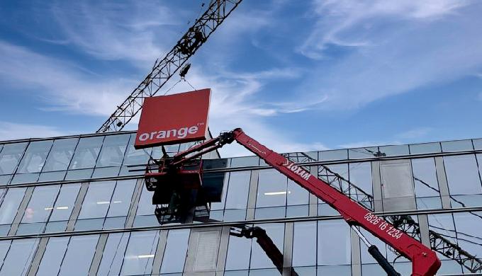Actif Signal réalise les enseignes du futur siège d'Orange Monde à Issy-les-Moulineaux – Bridge
