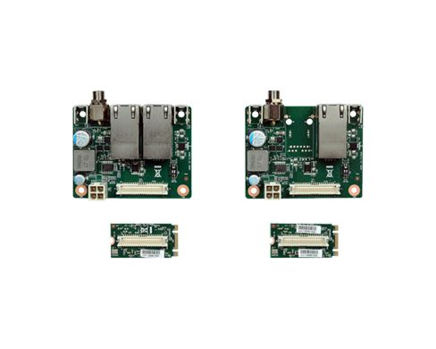 Port: 1 RJ45/2 RJ45 Interface: PCIe x1 Form Factor: M.2 B-M key 22mm x 42mm (0.87'' x 1.65'')