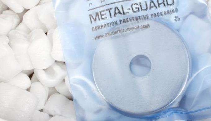 VCI tašky Přínosy se zaměřují na vícebodový inhibitor prchavé koroze, který se mísí s materiálem. Id...