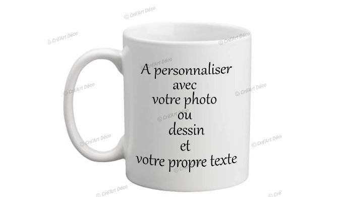 Un classique des cadeaux personnalisés le mug personnalisé. Ce cadeau pro ou perso fera durer dans l...