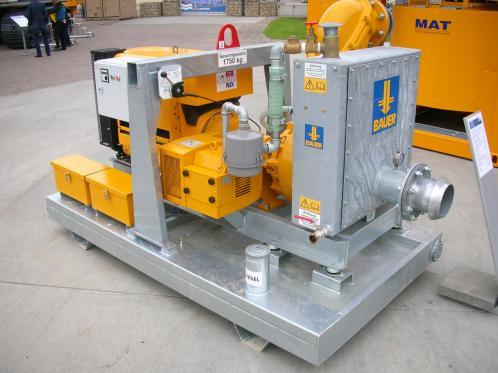 Firma MAT, membra a grupului BAUER, este specializata pentru executia de instalatii pentru preparare...