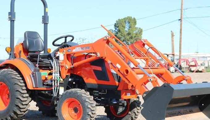 $232 month $0 DOWN - .99% APR* New 2020 Kioti CK2510H-TL HYSTAT 25HP 4x4 Tractor WITH FREE BOX BLADE...
