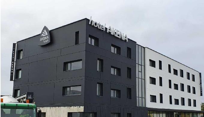Actif Signal réalsie les enseignes Akena Hotels de La Chapelle Saint-Luc