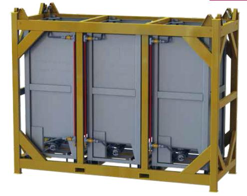 Caractéristiques techniques Construction en acier inox 1.4301(304) / 1.4404 (316).Remplissage : Dens...