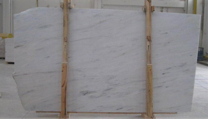 Bianco Ibiza Marble Slab And Cut To