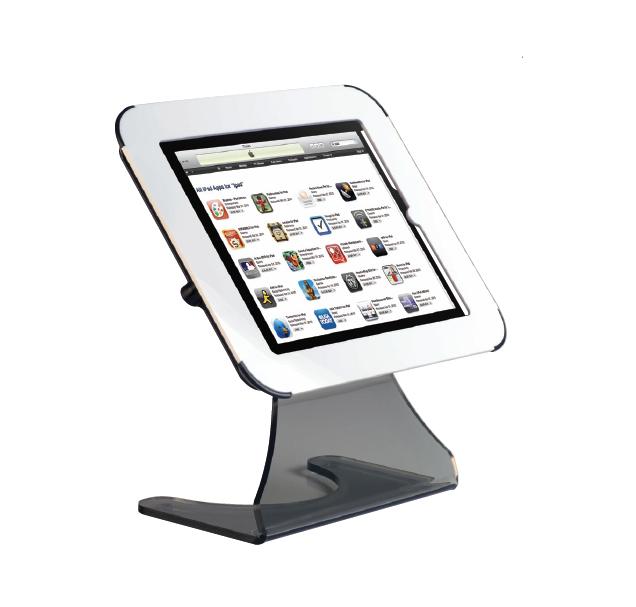 Compatible avec les ipad 2-3 et 4 ce porte-ipad augmentera l'impact de votre communication en diffus...