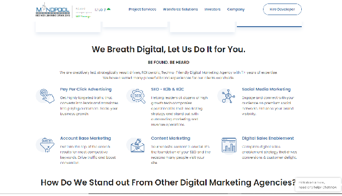 Digital marketing is the new age marketing channel that covers all aspects of marketing. Mindpool, a...