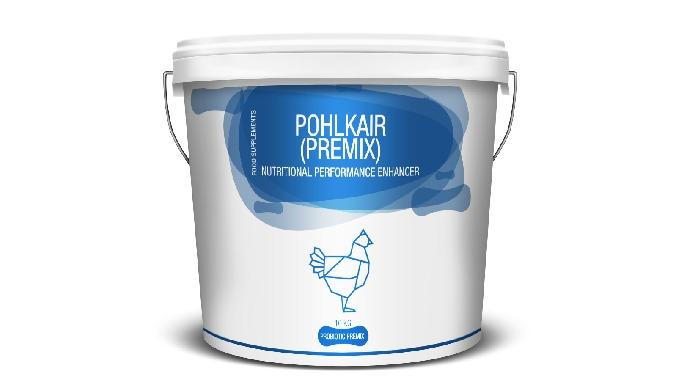 POHLKAIR LIQUID Pohlkair (Premix) is a Nutritional performance enhancer for better blood formation, ...