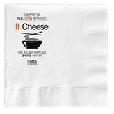 Napkin will be the space for advertising in restaurants. People can accept the advertising when they...