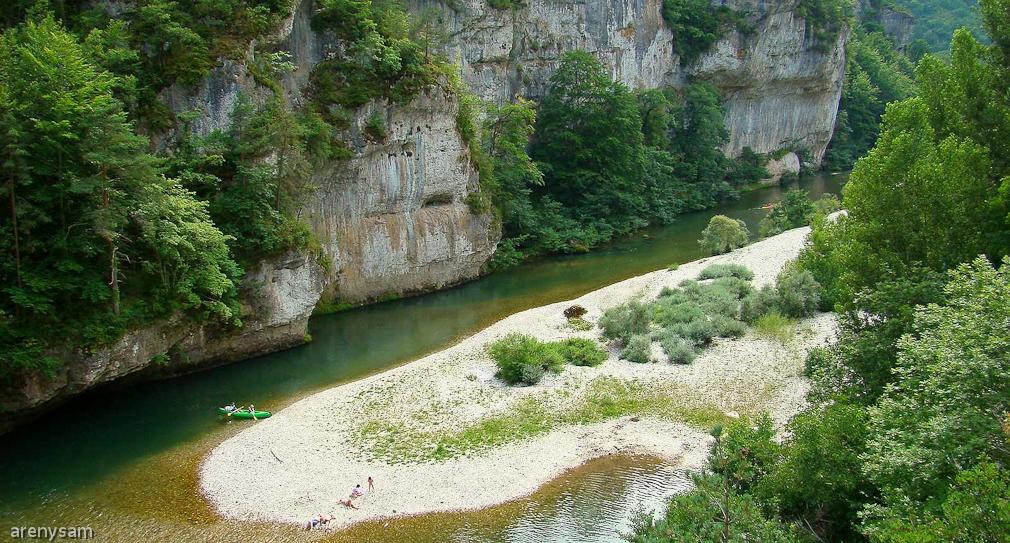 la rivière Tarn