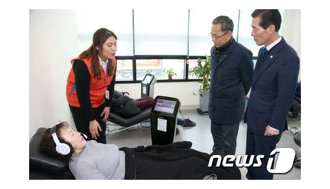 Sonic World supplied psychotherapeutic equipment to Pohang earthquake victims