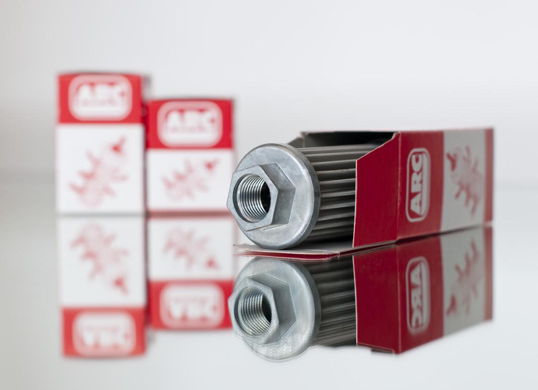 Filtros de aspiración de la marca ARC. Filtros de aspiración sumergidos para hidráulica. Filtros de ...