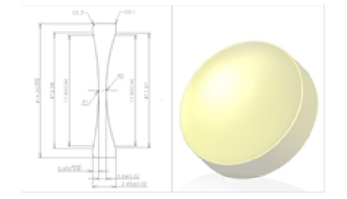 Multi-Purpose Aspheric Lens (Double Convex)