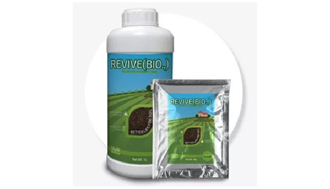 PRODUCT OVERVIEW Revive (Bio.,) is a bio-fertilizer based on the selective strains of nitrogen-fixin...