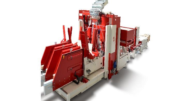 Stroje na výrobu dřevěných palet