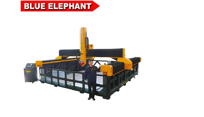 EPS foam 3000*5000 mm cnc machine with rotary spindle for car model