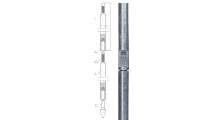 Materiał: Stal ocynkowana ogniowo wg normy PN-EN ISO 1461 Element mocująco uszczelniający z materiał...