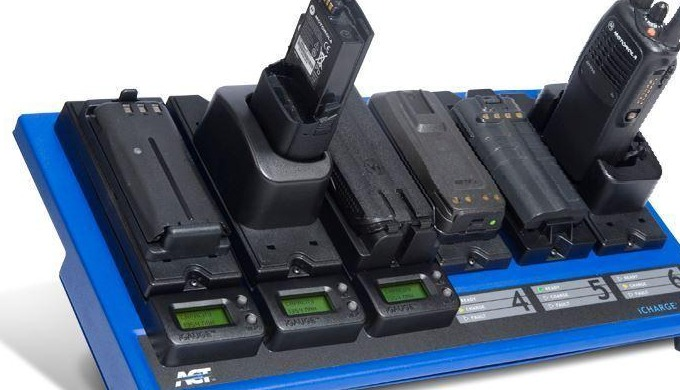 6-Unit Conditioning Charger for two way radio