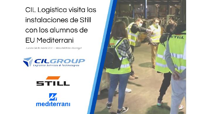 CIL Logística visita las instalaciones de Still con los alumnos del grado en Logística Empresarial de EU Mediterrani