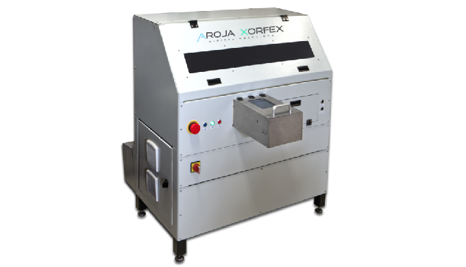 Digital inkjet printer for rotary and cylindrical objects | RP