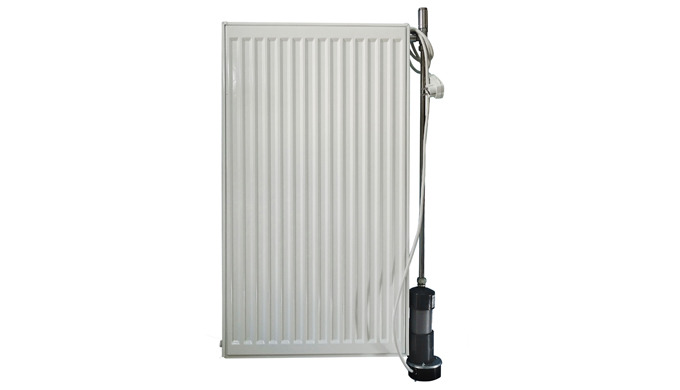Radiator with microboiler as a single heating system