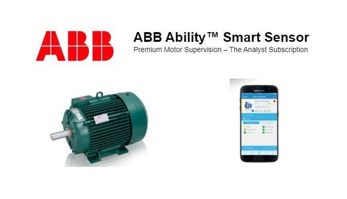 ABB Ability™ Smart Sensor Premium Motor Supervision – The Analyst Subscription