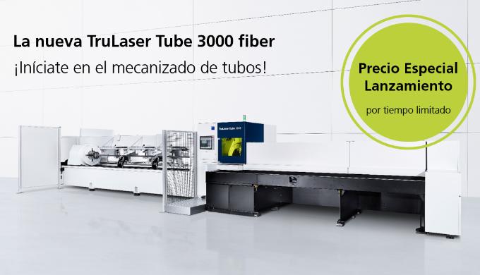 TRUMPF lanza la nueva TruLaser Tube 3000 fiber