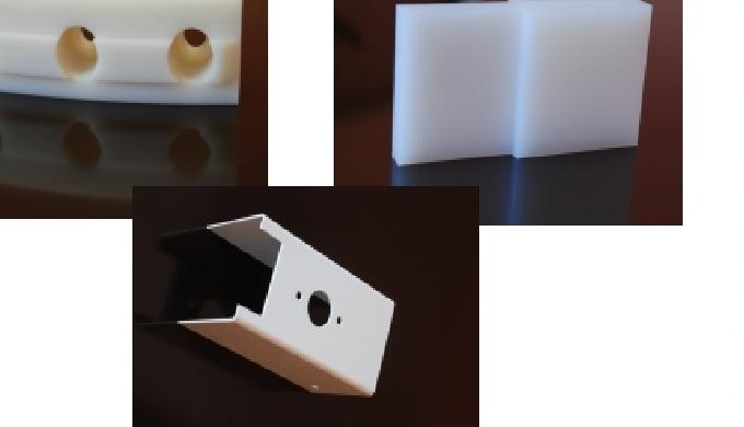Обработанные детали из технических пластмасс