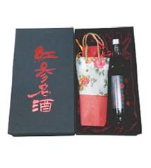RED-GINSENG WINE_No.3 Giftset Superiority of Hongsam Myeongju Hongsam Myeonggju is a healthy ferment...