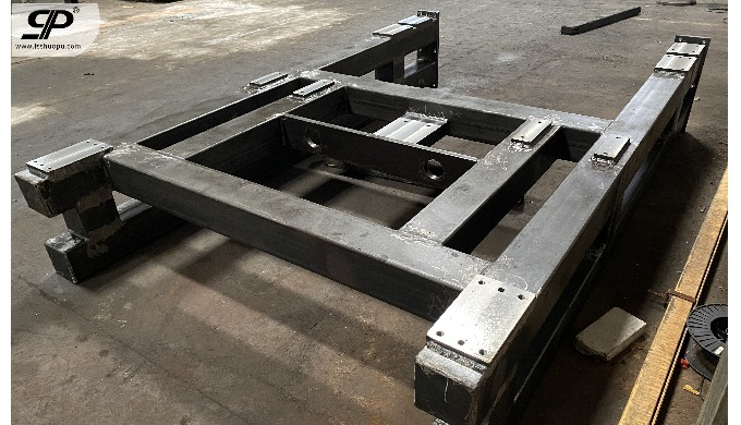 OEM Steel frame for machine 1. steel plate: thickness is not limited -- no matter how thick or how t...