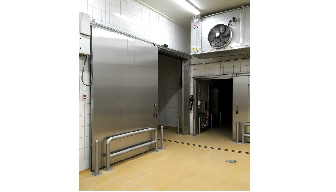 SLIDING DOORS Sliding doors from Door System are efficient and reliable. Handles and fittings are al...