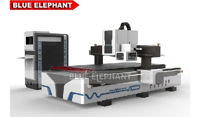 Blue Elephant CNC Supplies ELECNC-1325 Machine de toupie à bois à commande numérique automatique ave...