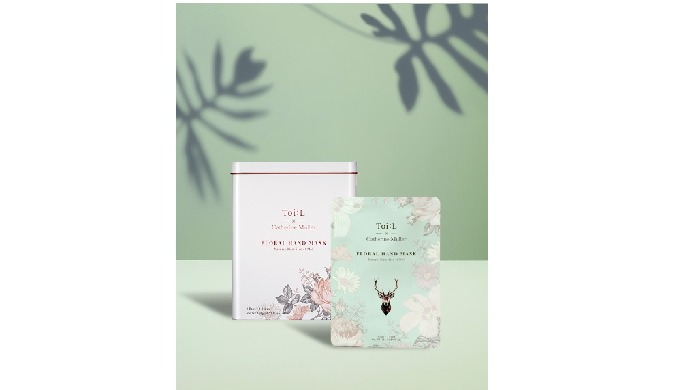Toi:L x Catherine Muller Floral Hand Mask Tin ver.   hand care products