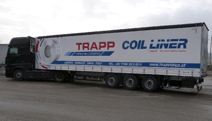 Collective goods transports Austria-Portugal