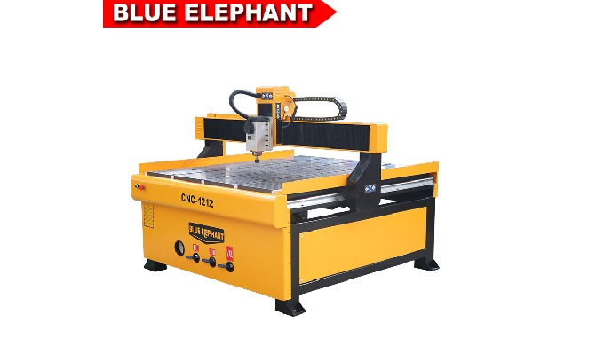 1212 Advertising cnc router wood carving router price for Wood MDF Aluminium cutting