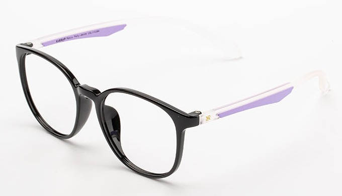 TR series with a great variety of front shapes (total 25 models) and color bar inserted temples. Col...