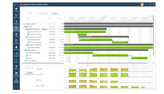 egrall-pm est un logiciel de Gestion de Projet Vous disposez d'un outil complet qui vous permet de t...