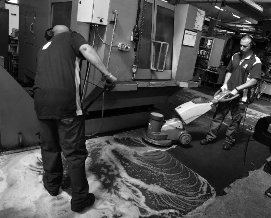 Service de nettoyage industriel Groupe GS