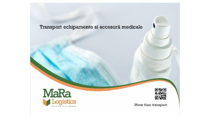 Oferim solutii complete de transport marfa generala pendtru domeniul medical precum: Oferim solutii ...