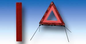 Plastové výstražné trojúhelníky