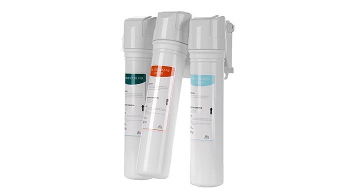 Moolmang EZ filtersystem hurtigt skift Filtreringssystem UF 3-trins filtersystem vandrenser til under vasken