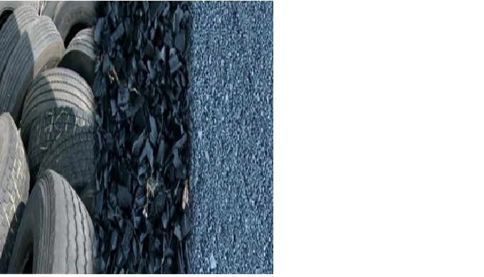 Long Long is the leading waste tire rubber crumbs for road and pavement construction manufacturer in...