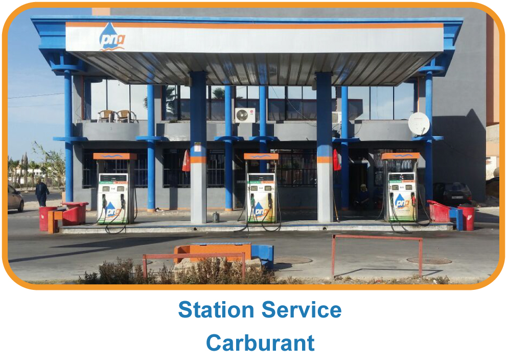 Station service - carburant