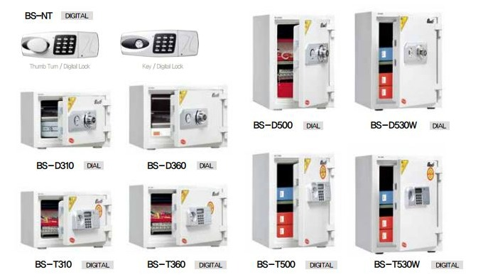 PERSONAL AND HOME SAFES