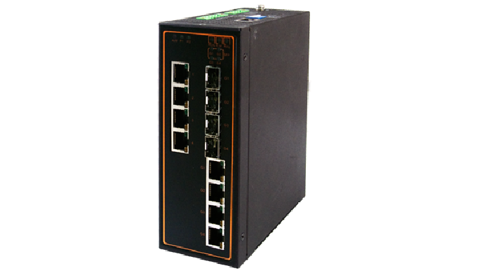 EH7508 Series / Industrial Ethernet Switch / Industrial PoE Switch