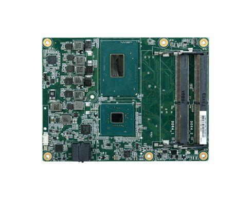 Dual channel DDR4 2666MHz SODIMM up to 64GB Four display ports: VGA*/DDI + LVDS*/eDP + 2 DDI; Suppor...
