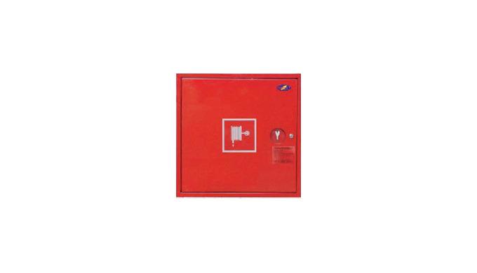 Służy do zwalczania pożaru przed przybyciem straży pożarnej.Szafki hydrantowe z wężem półsztywnym sp...