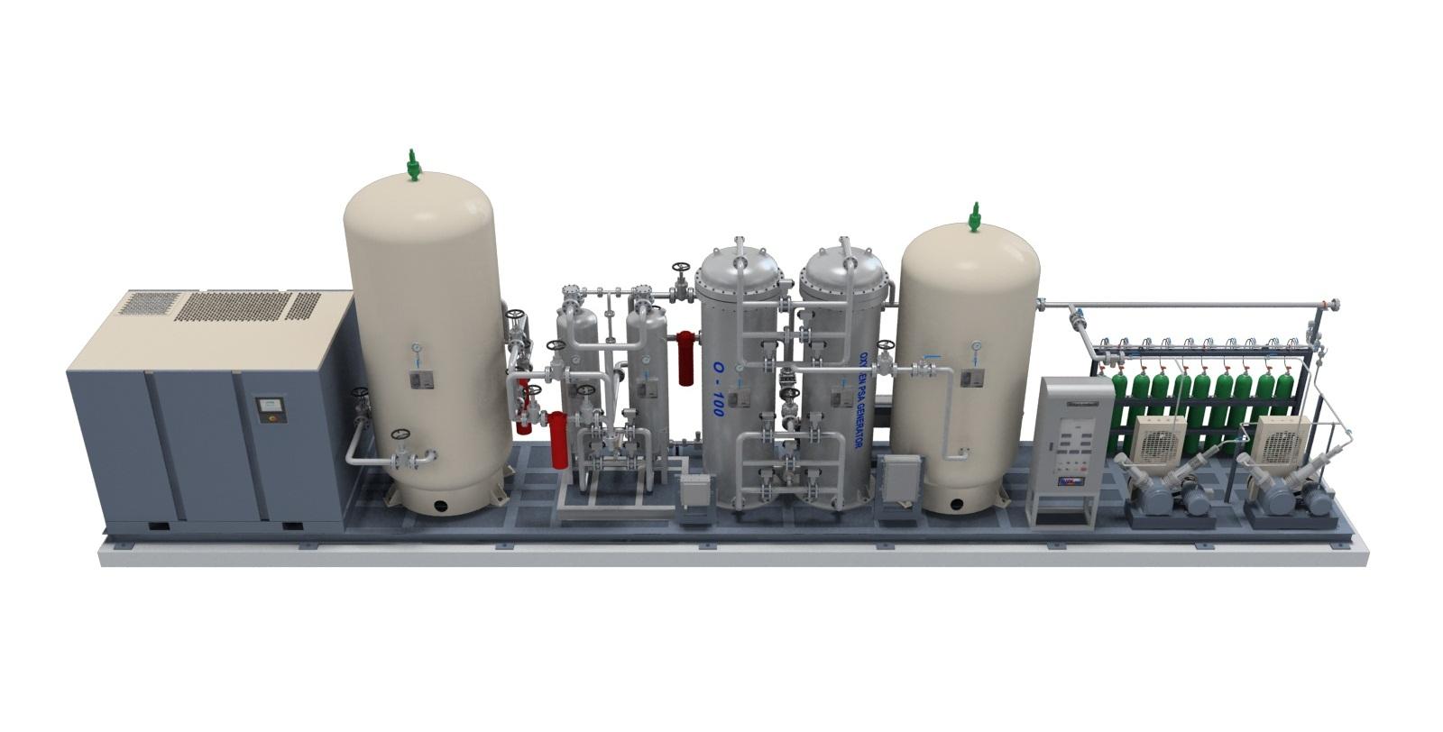 O2 PSA Generator