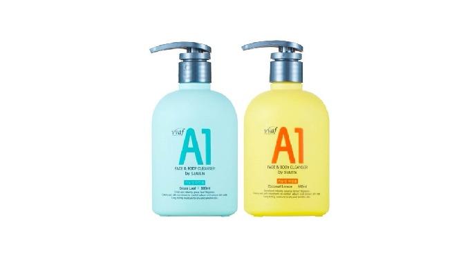 V VAF A1 CLEANSER_ Face and Body cleanser